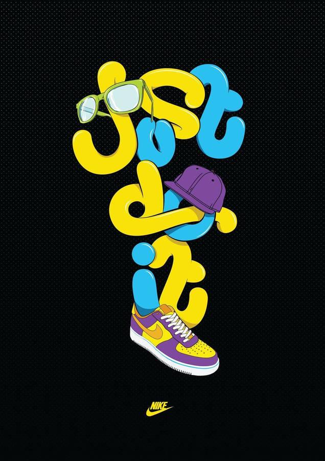 Nike Creative Logo Wallpaper