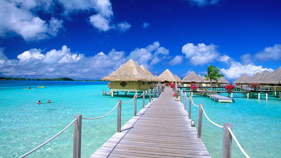 Tropical Beach, Bora Bora