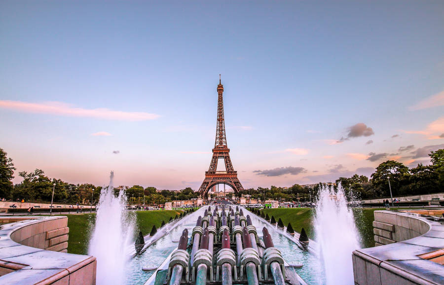 Deep in Paris, Eiffel Tower Wallpaper