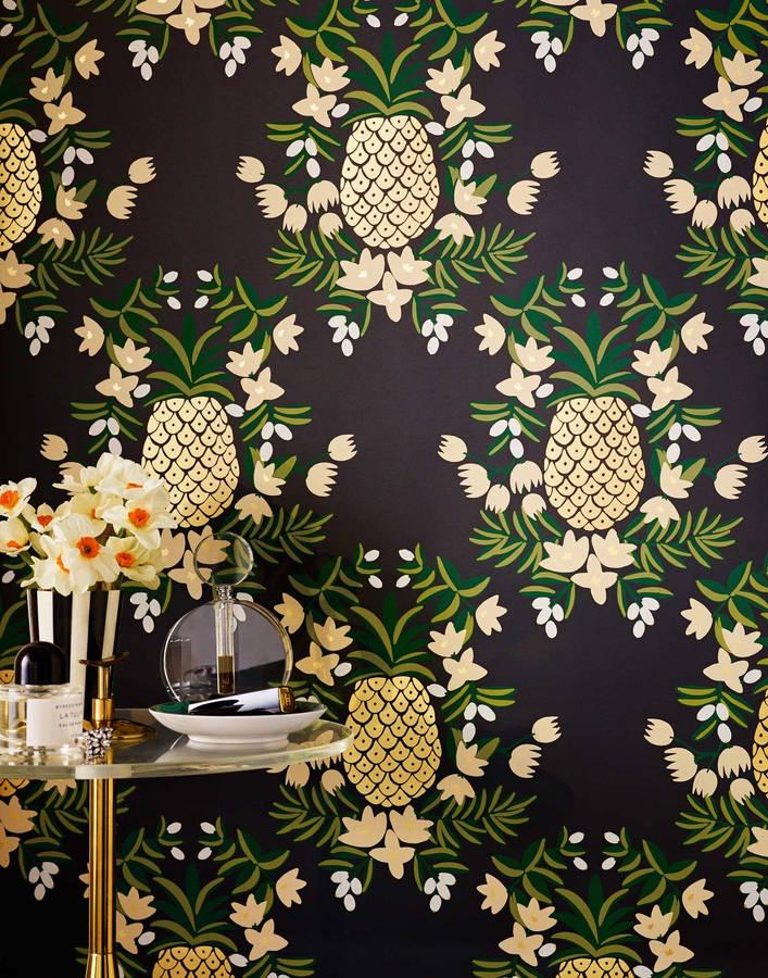 Download Pineapple Wallpaper. Hygge & West Wallpaper ...