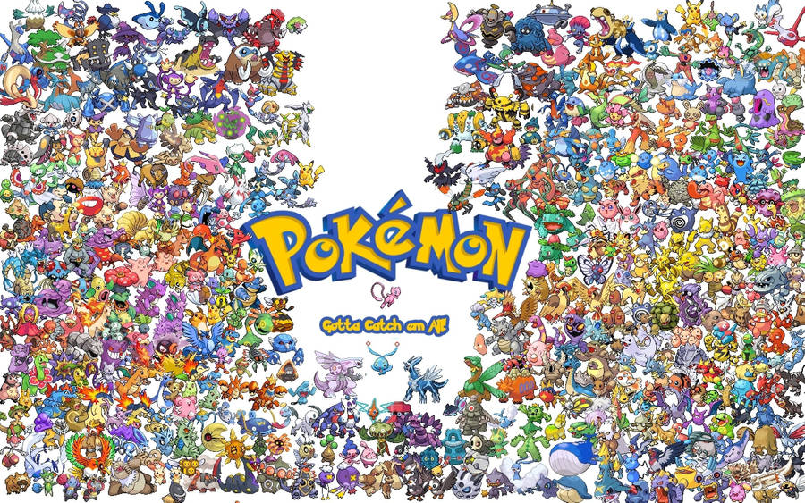 Desktop Wallpaper Pokemon Characters Black And White Hd 1440 X 900