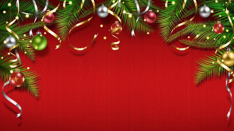 Christmas Heart Widescreen Wallpaper