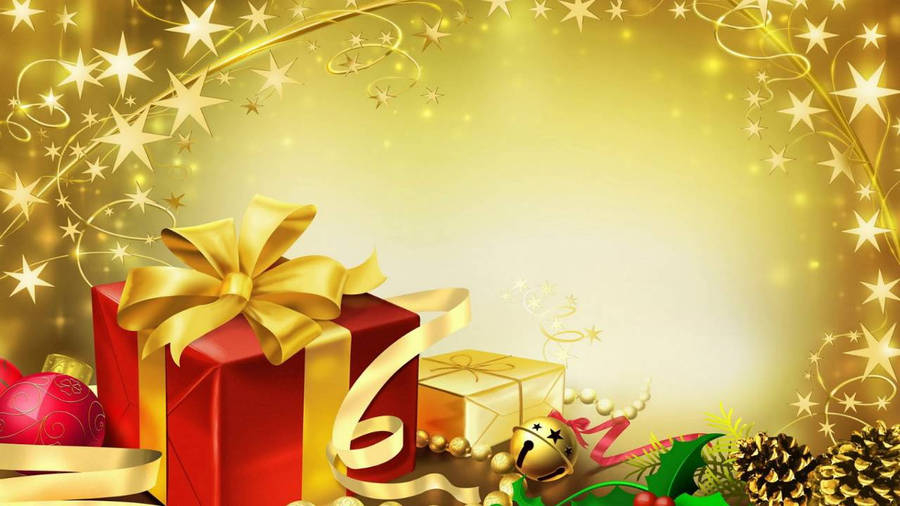 Merry Christmas And Happy New Year! Widescreen Wallpaper