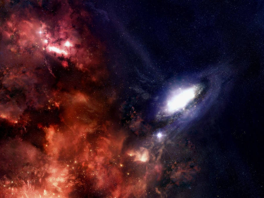 Silver lights in the grey galaxy wallpaper space - Deep blue space wallpaper ...
