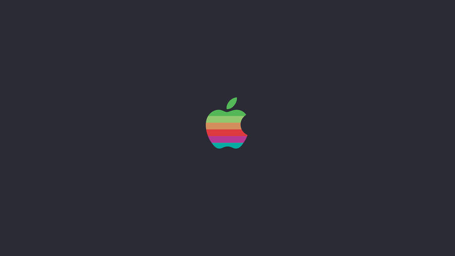Striped Apple Logo wallpapers HD free - 281286