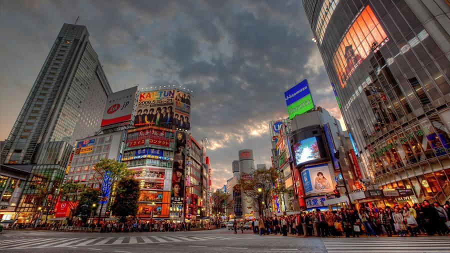 tokyo cityscape wallpaper 31424