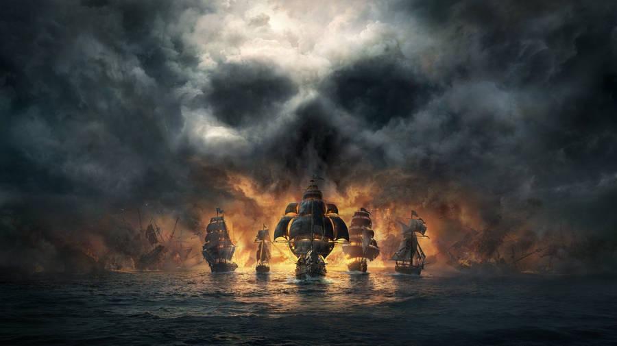 Pirate ship wallpaper fantasy wallpapers 17934 - Anime pirate wallpaper ...
