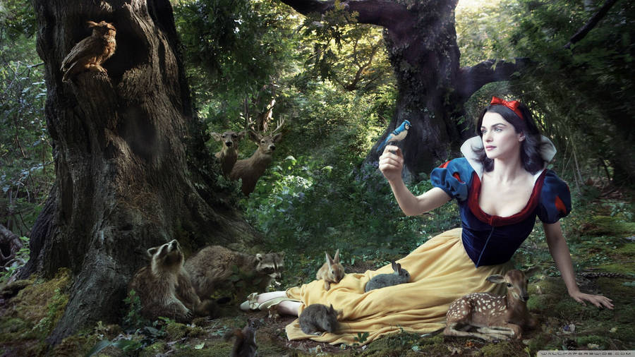 Snow White Dancing Snow White And The Seven Dwarfs