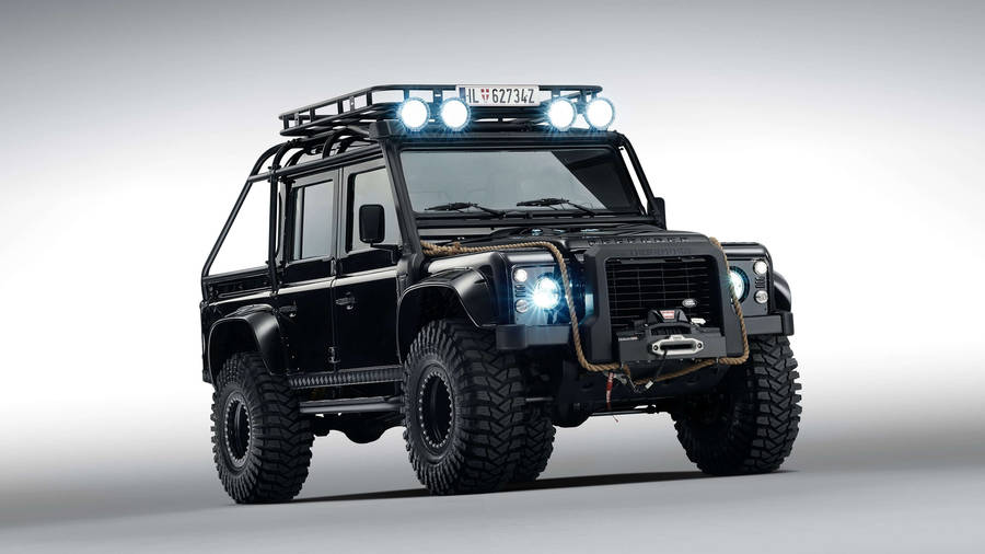 The Impossible Journey: classic Defender