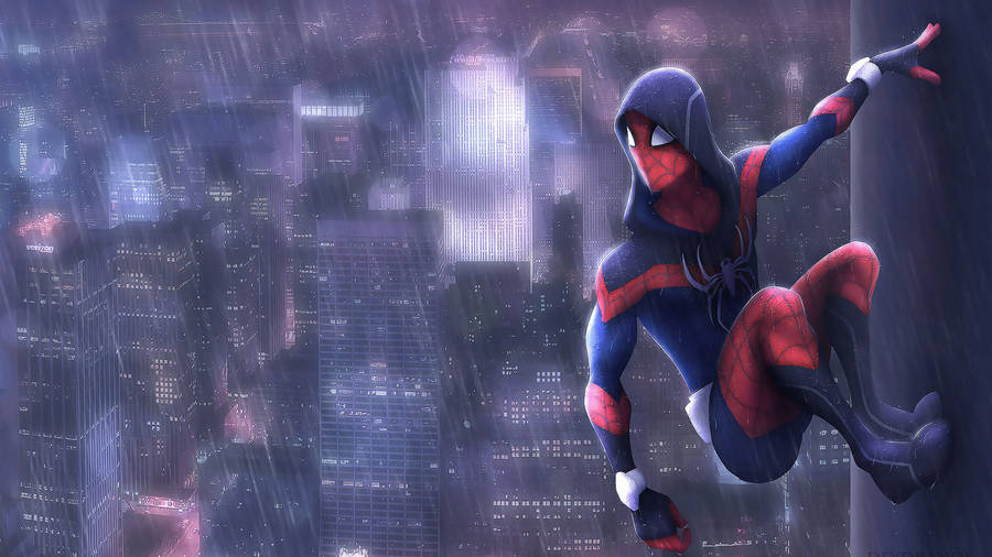 Crawling Spider Man In Spider Man Wallpaper Comic