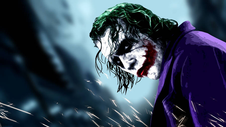 The Joker The Dark Knight Wallpaper Digital Art Wallpapers 20486