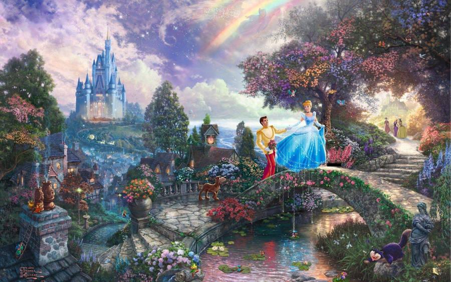 cinderella castle wallpaper cartoon wallpapers 28264