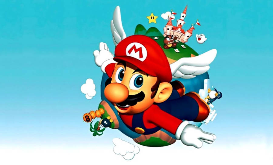 Mario Mushrooms Wallpaper Vector Wallpapers 15373