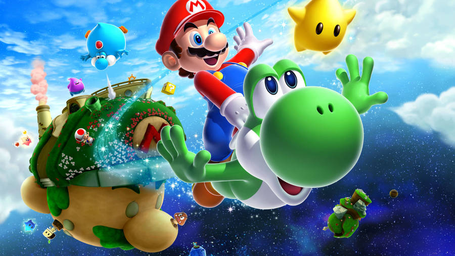 Super Mario Galaxy 2 Wallpaper Game Wallpapers 42822