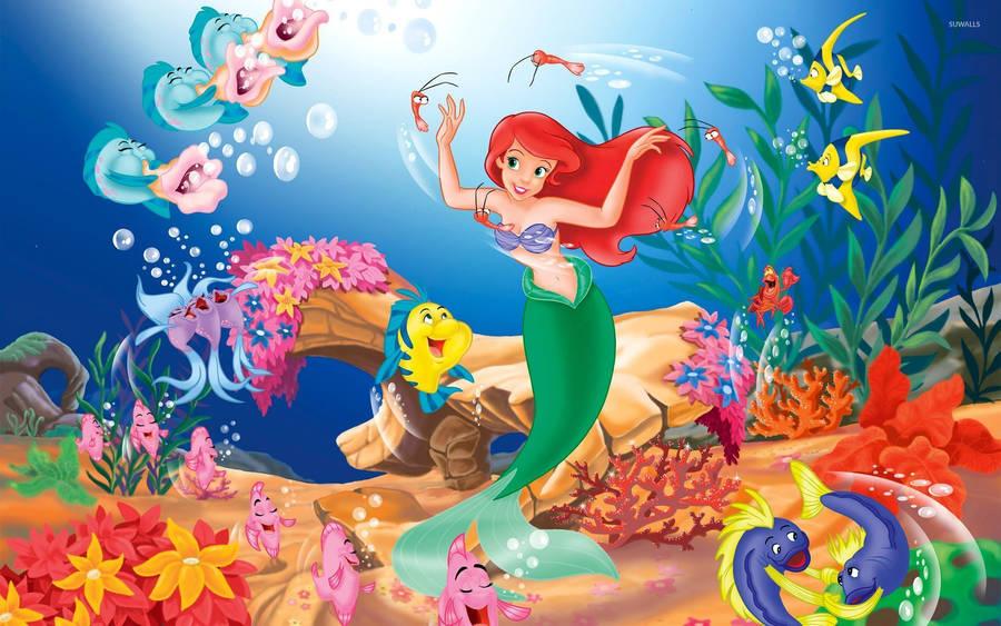 Ariel & Polochon 21518-the-little-mermaid-2560x1600-cartoon-wallpaper