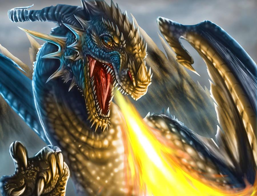 Red Dragon Wallpaper Digital Art Wallpapers 44324