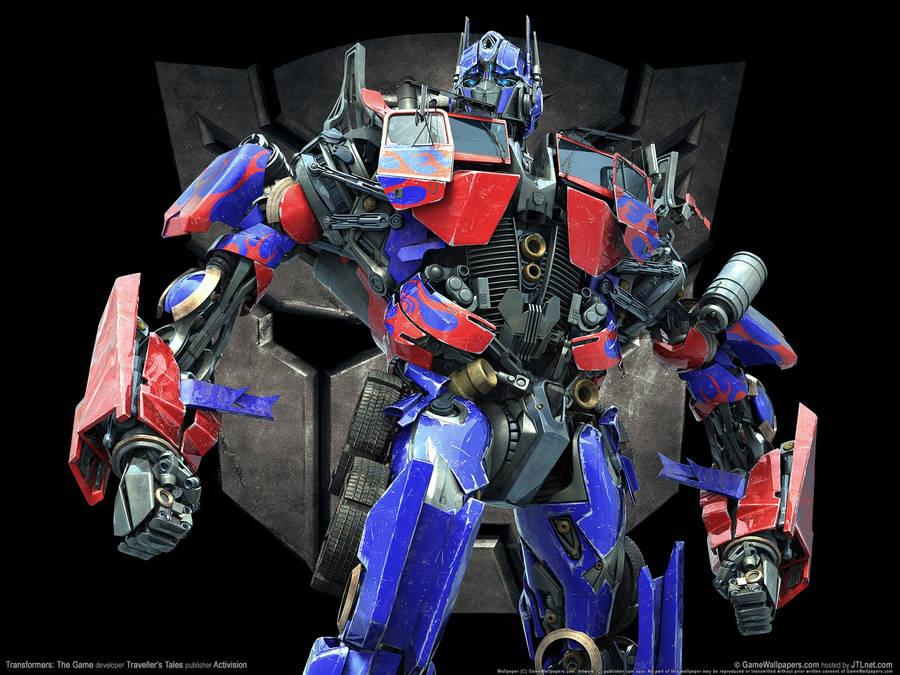 Transformers Logo Widescreen Wallpaper Wide Wallpapers Net