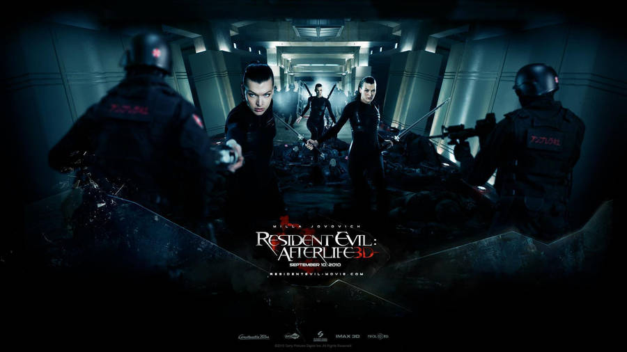 Milla Jovovich Resident Evil Afterlife Wallpapers Desktop