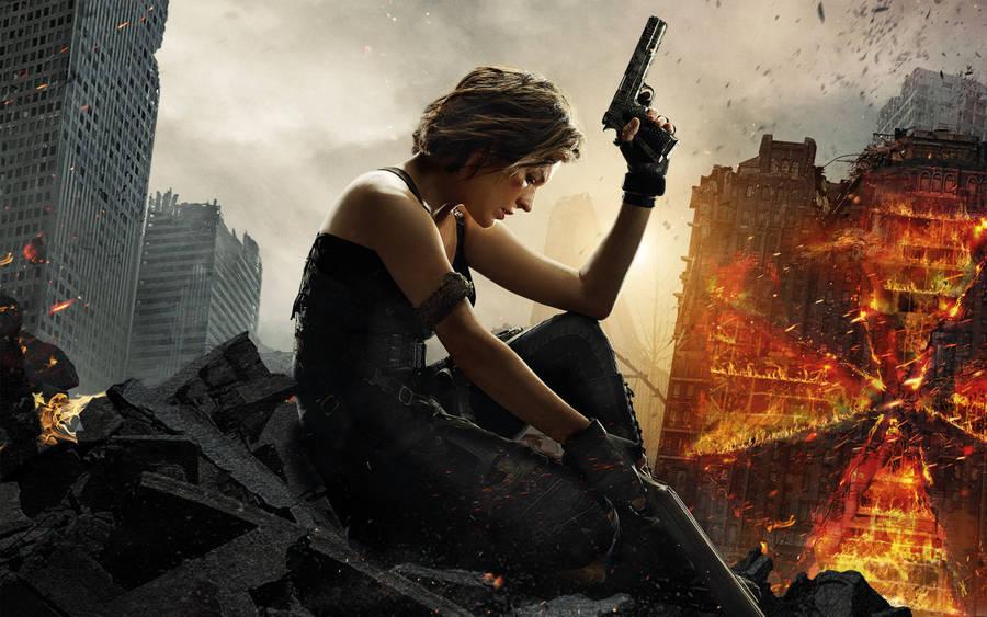 Resident Evil Resident Evil Afterlife Ali Larter HD Wallpapers