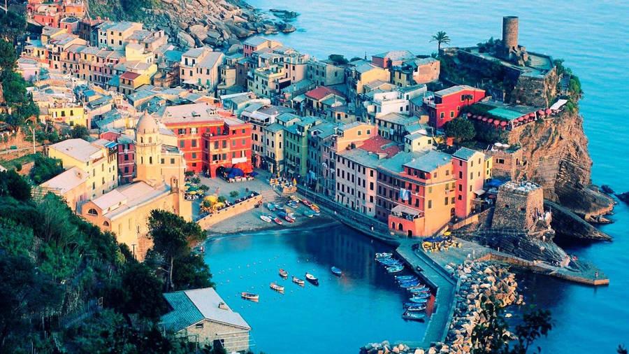Manarola Riomaggiore La Spezia Liguria Cinque Terre