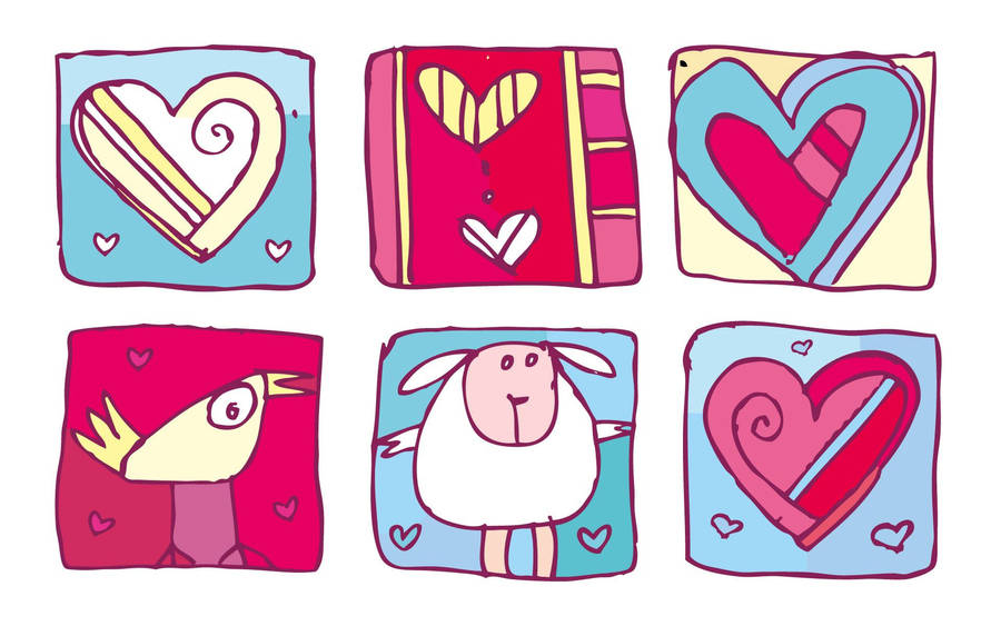 Teddy Bear with Heart Wallpaper