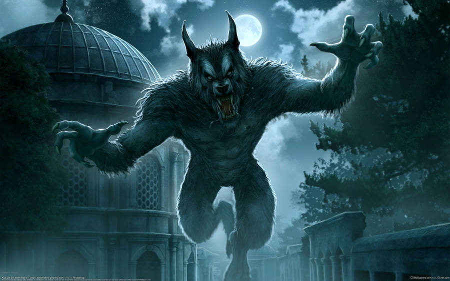 Scary Werewolf Wallpaper Fantasy Wallpapers 45821