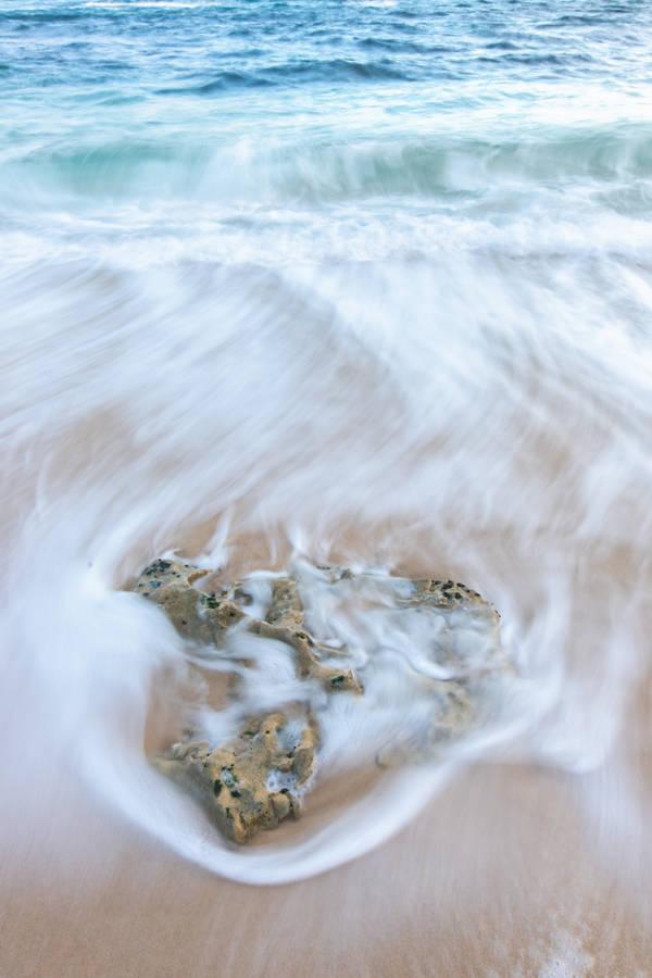 Pt. Dume Zuma Beach California seascape oil painting by Karen Winters by Karen Winters