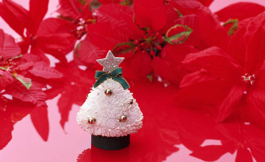 Guilty Crown - Yuzuriha Inori Christmas Wallpaper
