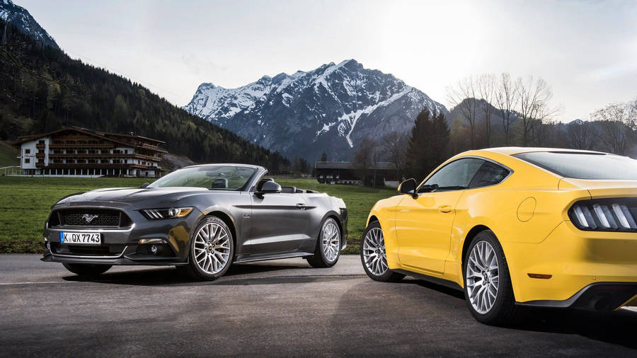 Mustang Coupe 1965 Wallpaper 22111