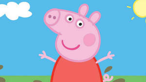 Download Peppa Pig With Phone Wallpaper Wallpapers Com
